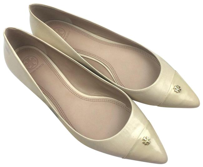Item - Ivory Fairford Pointy Toe Nude Women C Flats Size US 10.5 Wide (C, D)
