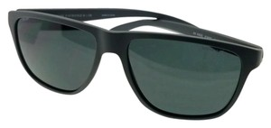 A|X Armani Exchange AX4052S-818087-58 Squared Unisex Grey Frame Grey Lens Sunglasses