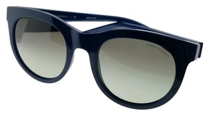 A|X Armani Exchange AX4053S-819311-51 Round Womens Blue Frame Grey Lens Sunglasses