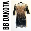 BB Dakota Black Silver XS Elise Sequin OmbrÉ Short Night Out Dress Size 2 (XS) BB Dakota Black Silver XS Elise Sequin OmbrÉ Short Night Out Dress Size 2 (XS) Image 9