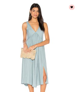 Somedays Lovin Summer Slit Flowy V-neck Dress