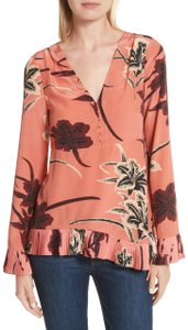 10 Crosby Derek Lam Top TERRACOTTA