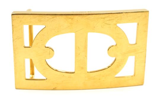 Hermès 32Mm Rare Boxed Gold Chaine D'ancre Reversible Belt leather Size 105 Image 2