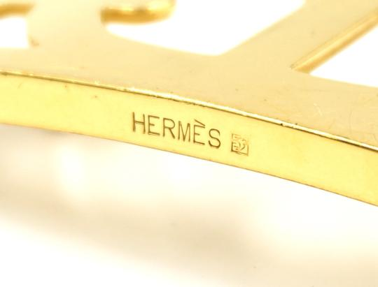 Hermès 32Mm Rare Boxed Gold Chaine D'ancre Reversible Belt leather Size 105 Image 3