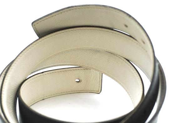 Hermès 32Mm Rare Boxed Gold Chaine D'ancre Reversible Belt leather Size 105 Image 7