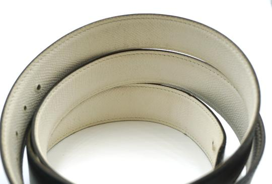 Hermès 32Mm Rare Boxed Gold Chaine D'ancre Reversible Belt leather Size 105 Image 9