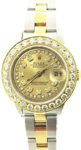 Rolex Rolex Oyster Perpetual Lady with 1.70 ctw Diamond 26mm Watch