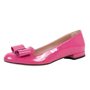 9a6e2880bdbf Added to Shopping Bag. RED Valentino Bow Patent Leather Loafer Pink Flats