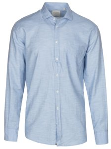 Billy Reid Button Down Shirt sky blue