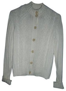 Charter Club Cableknit Petites Heavy Button Front Cardigan