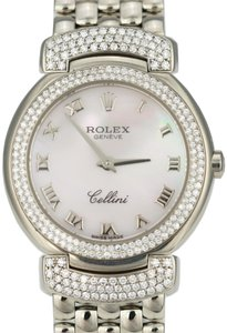 Rolex Rolex Cellini Cellissma White Gold Factory Diamond -MINT Condition