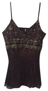 Do & Be Top brown is with gold detail