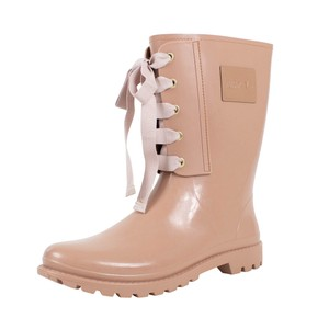 RED Valentino Winter Rubber Rain Pale Rose Boots