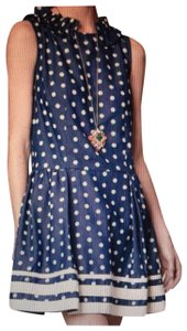 Karen Walker short dress Blue on Tradesy
