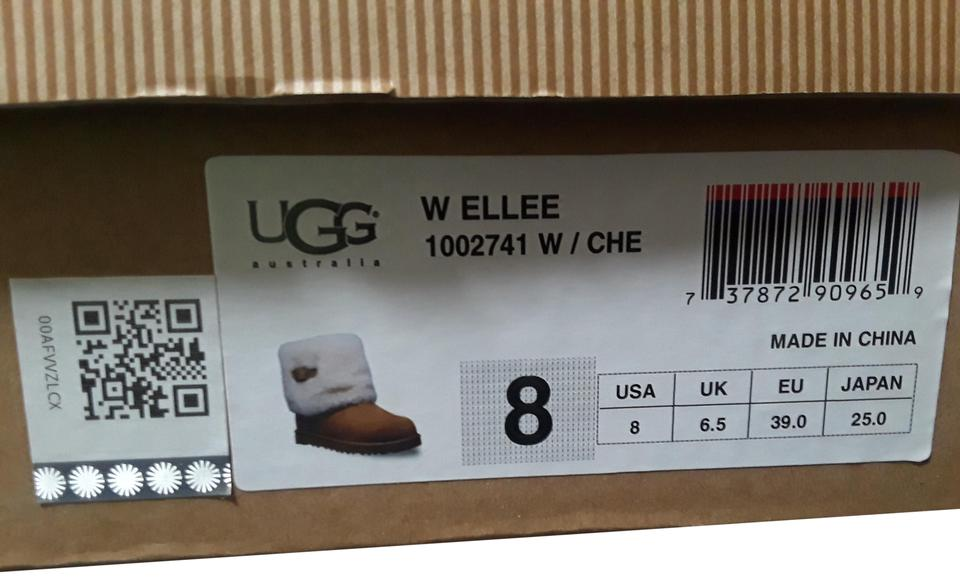 c17e9ac3a26 Brown Ellee Boots/Booties