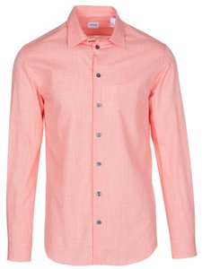 Armani Collezioni Button Down Shirt salmon