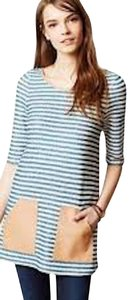 Anthropologie Striped Tunic