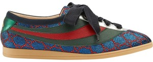 Gucci Sneaker Trainer Flat Glitter Falacer blue Athletic