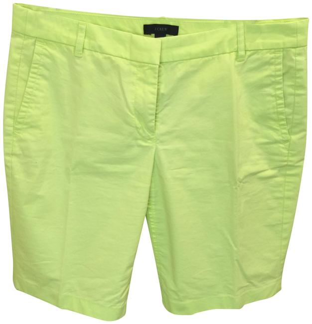 Item - Neon Yellow Cotton Shorts Size 4 (S, 27)