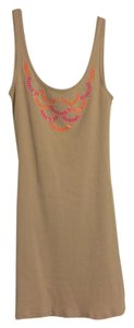 Moda International short dress Tan on Tradesy