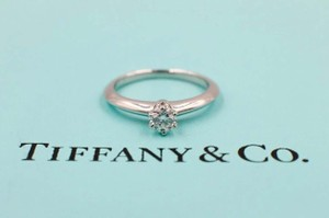 aad5929f9 Tiffany & Co. I Platinum and Diamond Band 0.25 Ct Vvs2 Engagement Ring