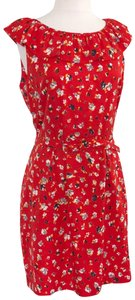 Karen Walker short dress red on Tradesy