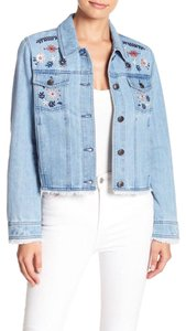 cupcakes and cashmere Womens Jean Jacket