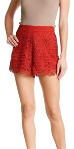 Lovers + Friends Dress Shorts red