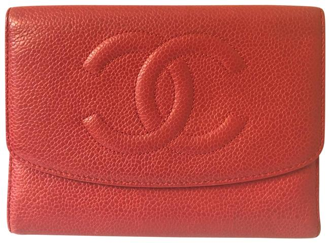 Chanel Red Wallet Chanel Red Wallet Image 1