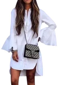 Cycle Boutique Button Down Shirt White