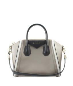 Givenchy Leather Satchel in Multi-ColorxBlackxGrey