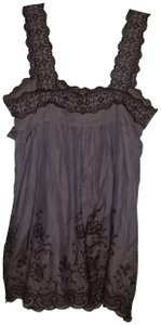Hazel short dress Greyish Purple on Tradesy