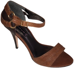 Steven by Steve Madden Leather Brown Sandals