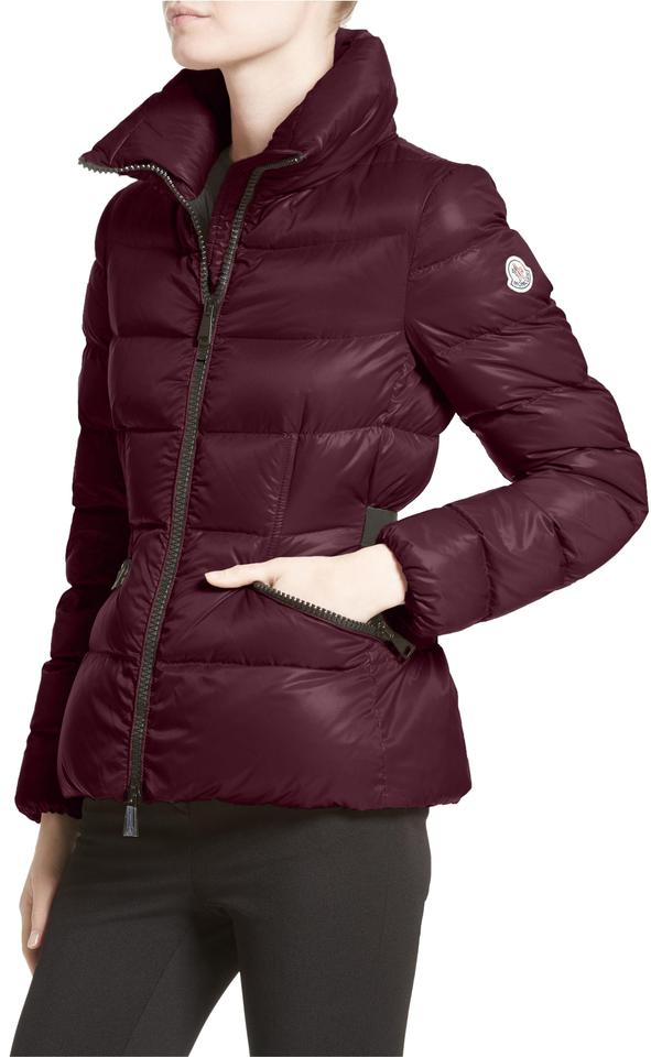 f312220bd Moncler Burgundy New Danae Down Puffer Jacket 2 Coat Size 8 (M) 21% off  retail