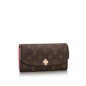 Louis Vuitton BRAND NEW! Monogram Canvas Emilie Wallet Flower Blooms LE