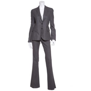 Gucci Gucci Grey Wool Pant Suit