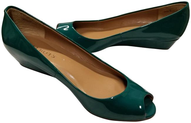 Item - Emerald Green Wedges Size US 7 Regular (M, B)