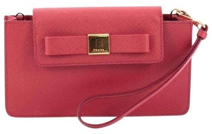 Prada Woc Saffiano Leather Cross Body Bag