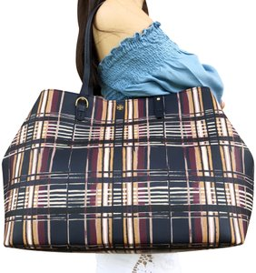 Tory Burch Kerrington Tote in Philly Plaid