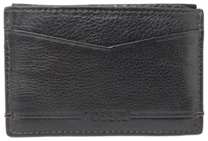 Fossil Fossil Brooks RFID Card Case Black Small Men's Wallet