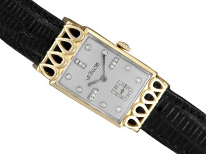 Jaeger-LeCoultre 1951 Jaeger-LeCoultre Vintage Mens Watch, 18K Gold and Diamonds - The