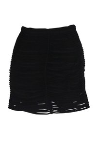 Alexander Wang Tiered Pencil Skirt Black