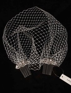 Pronovias Antique Silver and Ivory T20-2437 Hair Accessory