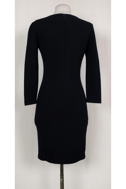 St. John short dress Black Knit on Tradesy