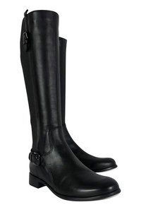 La Canadienne Stefania Riding Boot Black Pumps