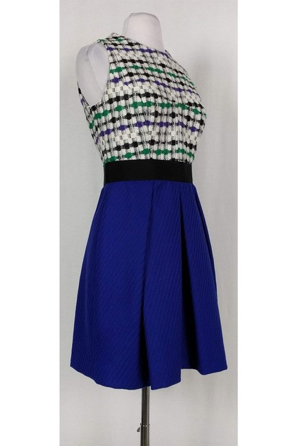 MILLY short dress Patterned Wool Fit N' Flare on Tradesy