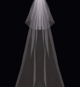 enVogue Bridal Blush Long Cathedral Style V03c Bridal Veil