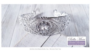 Silver Meghan Markle Crown Tiara