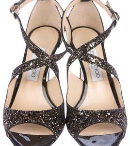 Jimmy Choo Black glitter Formal