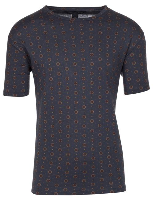 Preload https://img-static.tradesy.com/item/23937262/marc-by-marc-jacobs-dark-blue-men-s-cotton-dalston-dot-print-t-shirt-tee-shirt-size-8-m-0-0-650-650.jpg